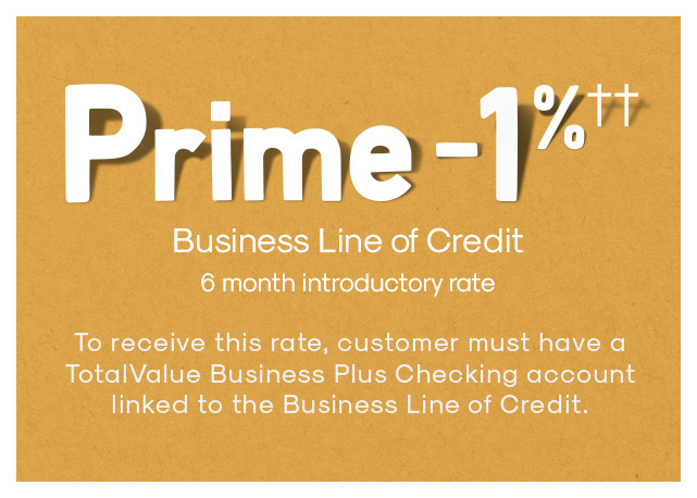 Business Line of Credit Special Offer